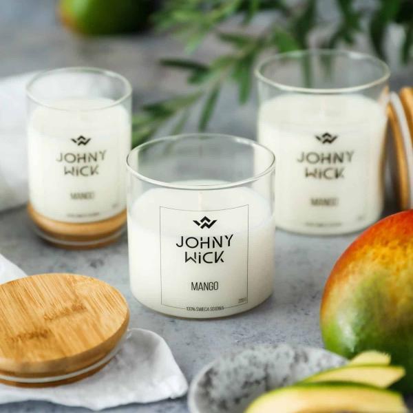 świeca zapachowa mango